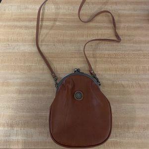 Vintage capezio cross body purse